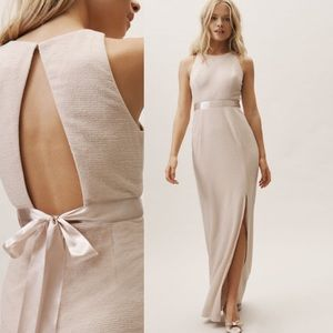 BHLDN Adrianna Papell Idris Dress - Champa…